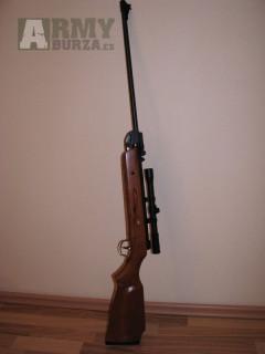 Vzduchovka s puškohledem 4x20 B-3-3  Jedná se o vzduchovku raže 5,5mm. výrobce AIR RIFLE Germany Style včetně puškohledu 4x20 typ B3-3
