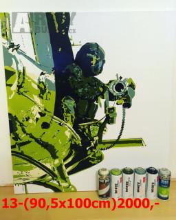Obrazy Army
