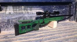 Airsoft sniper SV-98 /oceľ, kov, drevo/
