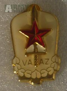 Vojenský odznak VAAZ bez ozubeného kola