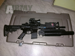 M4 RIS s m203 a 130 pružina