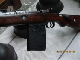 Mauser 98  - zákopová schránka na 20 r.