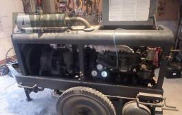 Vojenský turbínový kompresor