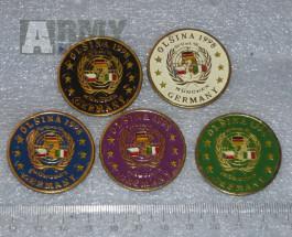 Vojenské cvičení průzkumných jednotek Olšina 1998, odznaky