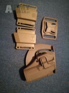 Kydex poudro pro Glock