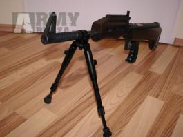 Bipod Dvojnožka na HLAVEŇ max.20mm výška 22 - 26cm Telescop    Bipod ke zbrani s montáží na hlaveň s průměrem max.20mm.