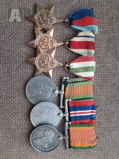Medaile za WWII  - VelkáBritánie /JAR