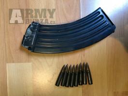 Používaný zásobník vz.58 + školní náboje 7.62