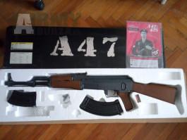 M16 m203 a AK 47