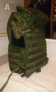 Ruská balistická vesta 6B43 originální.