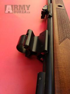 Montáž pro puškohled, baterku nebo laser (25mm) na magnet - Vyroben