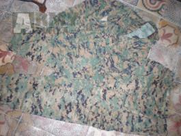 USMC marpat wdl MCCUU woodland U.S. Marines kalhoty a blůza