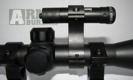 Profi červený laser na optiku s tubusem 25mm