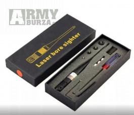 Nastřelovací laser slouží k seřízení optiky popř. kolimatoru  laser je možno seřídit i samotný pomocí bočních šroubů.Hmotnost: 150 g T6010 vysoké tříd