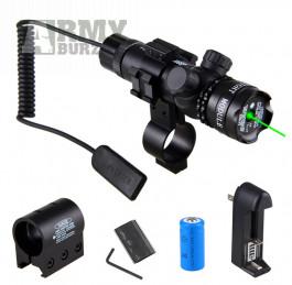 zaměřovací laser zelený