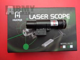 zaměřovací laser zelený s montáží