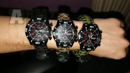 Paracord hodinky