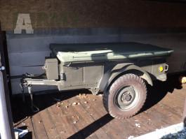 Prodám vlek M100, US trailer, za JEEP
