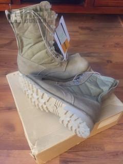 Nové boty Cambrelle Lightweight Patrol Boot Desert UK 12M