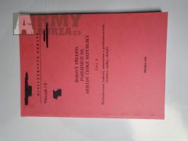 Pomůcky a předpisy AČR-Taktika