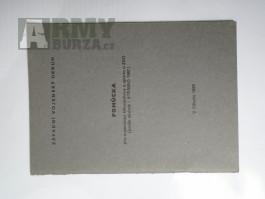 Pomůcky a předpisy AČR-Tělesná příprava