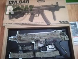 MP5 blowback