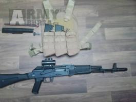 Prodám AK74M Cyma, CM.040C
