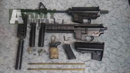 M4A1 / M4 / M7A1 / upper / lower / tělo / body / pažba / tlumič / hopup / grip / rukojeť / Classic Army / DBoys