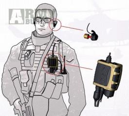 Headset s aktivním příposlechem NACRE Quietpro