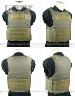 Vesta, body armor, pantac, low profile