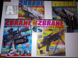 Časopisy ZBRANĚ A NÁBOJE