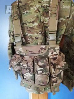 taktická vesta multicam