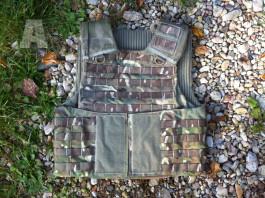 Balistická vesta Multicam bez kevlarové výplně