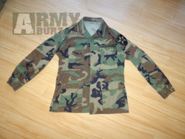 Blůza Woodland - U.S.Army vel. Medium Regular