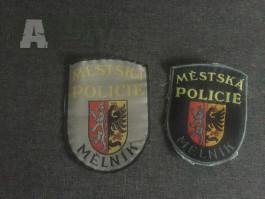 Staré našivky MP Mělnik - 90.léta