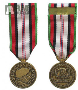 Medaile za službu v Afghánistánu US armáda