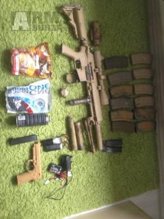 HK416 TUNING,PŘÍSLUŠENSTVÍ LEVNĚ!
