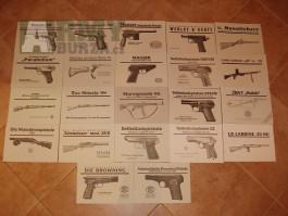 Příručka ke zbrani P08, Mauser 98k, P38, C96, STG44, Walther PP/PPk, CZ27 i v PDF