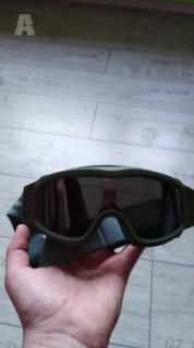 Taktické brýlebse sklama(žluté, bílé a černé)