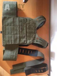 Nosič plátů Tasmanian Tiger® Plate Carrier LC - oliv