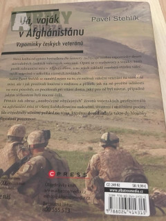 """Kniha """"Já voják v Afghanistánu"""""""