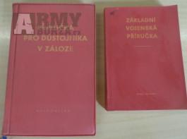Vojenské příručky z bývalé ČSLA