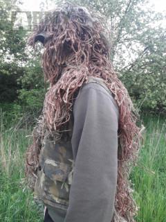 Ghillie suit (hejkal) domácí výroby