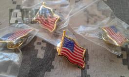 Odznaky vlaječek USA