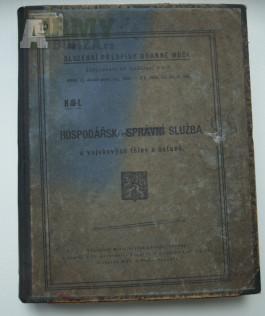 Služební předpis MNO z roku 1926