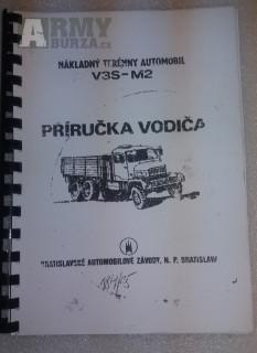 Příručka řidiče Praga V3S M2