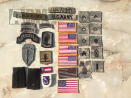 US nášivky, odznaky