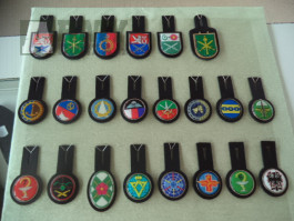 Kapsové odznaky ačr  40 kusů