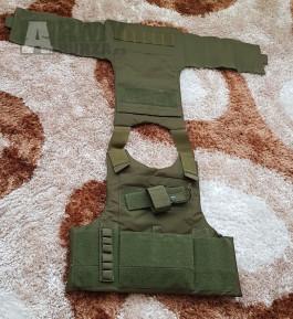 NOVÝ Rifleman bandalír OLIVE - neprůstřelná vesta s kapsami