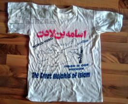 Tričko Tálibán pro sběrazele